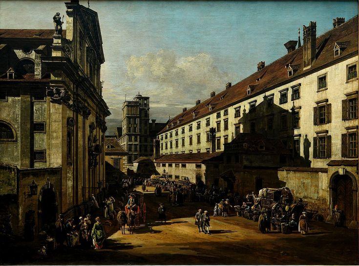 Dominican Church (1759-1760), Bernardo Bellotto. Kunsthistorisches Museum Wien