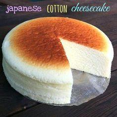 Cheesecake giapponese - ricetta con tre ingredienti