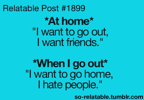 introvert: Quotes, Relatable Posts, My Life, Truths, Funny Stuff, I Hate People, So True, Totally Me, True Stories