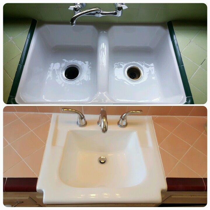 Reglazing Kitchen Sink 209 best bathtub reglazing images on pinterest bath tub bathtub reglazing sinks plumbing the look you expected all along workwithnaturefo