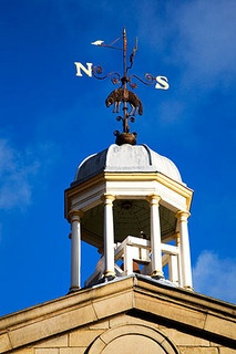 Weathervane at The Piece Hall Halifax Halifax West Yorkshire England by Mark Sunderland, via Flickr
