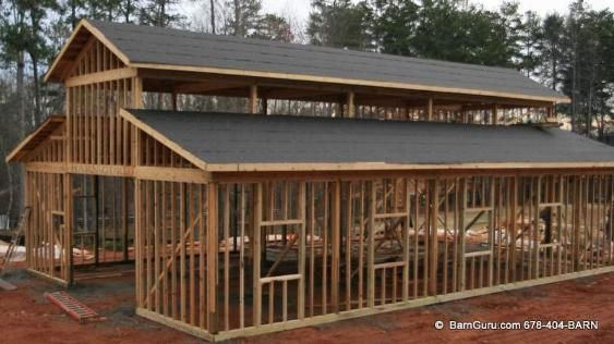 Shell Only Pole Barn - Have A Need For Just The Shell Of A Horse Barn?