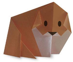 Origami Dog2