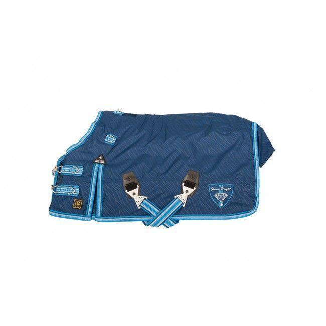 Mooie blauwe #deken voor uw #minipaard. Bestel nu snel bij de grootste webshop voor minipaarden en #shetlanders !