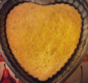 Base torta a cuore
