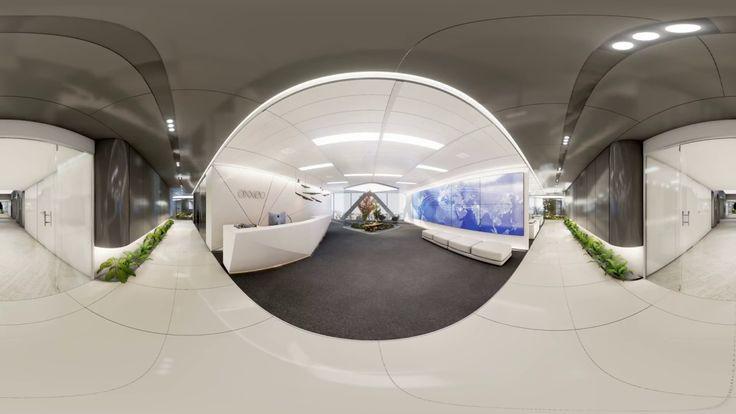 Recorrido para gafas de realidad virtual de #oxxeo, obra de #rafaeldelahoz #arquitectura #madrid #oficinas #grupogmp