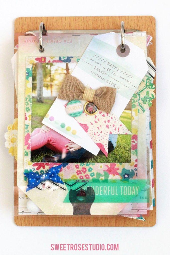 Family Photo Flip Book | Sweet Rose Studio