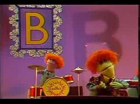"""""""Sesame Street: The Beetles - Letter B"""" Amazing Sesame Street song with a bit of good musical selection :3"""