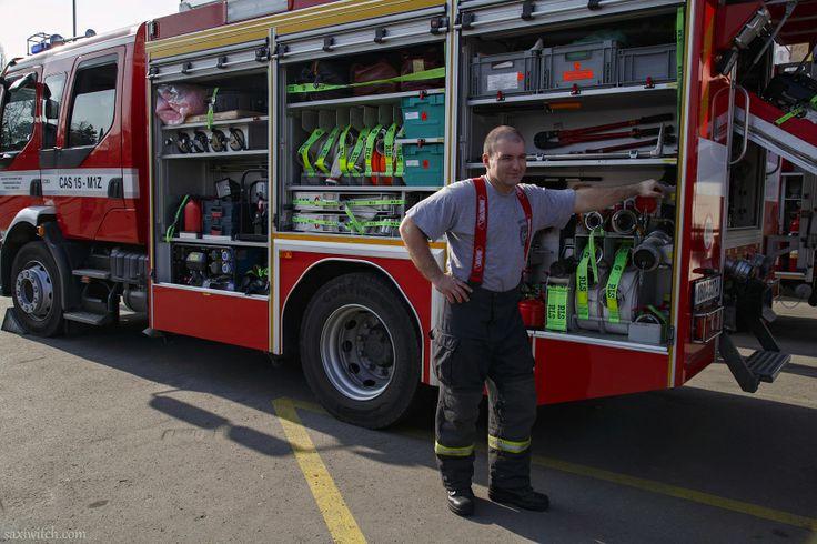 Hasiči byli v pozoru...  Firefighters were on the lookout ...