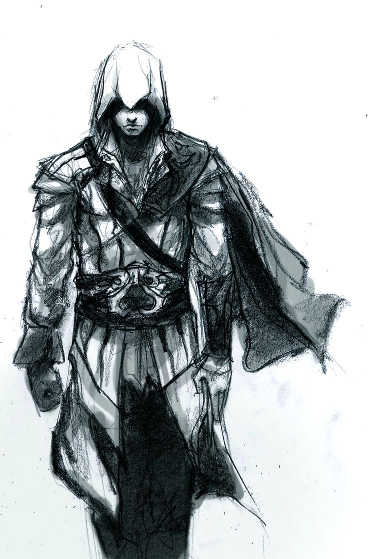 ezio auditore de firenze sketch by logan
