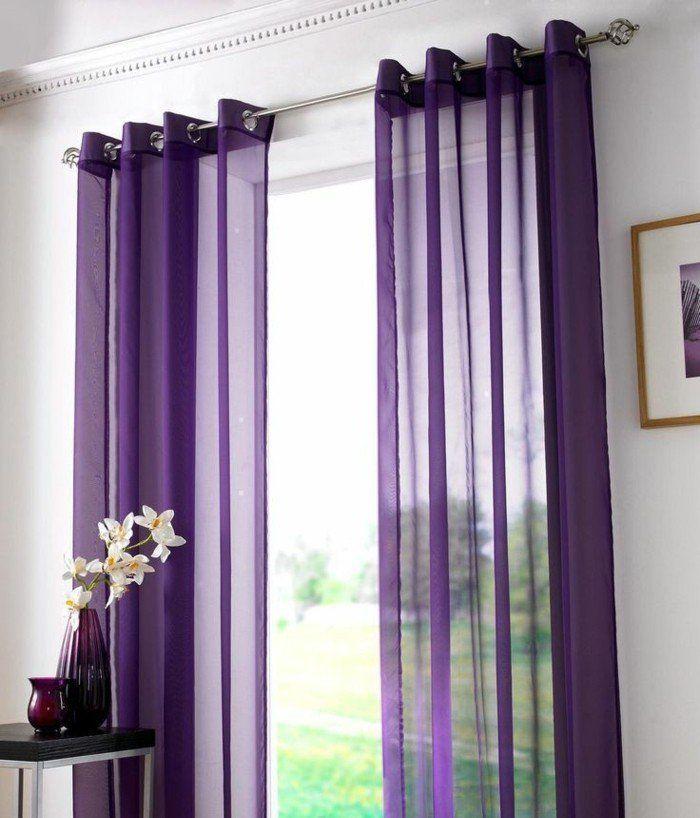 16 best rideaux et poles rideaux images on pinterest double curtains shades and curtain ideas for Voile et rideaux