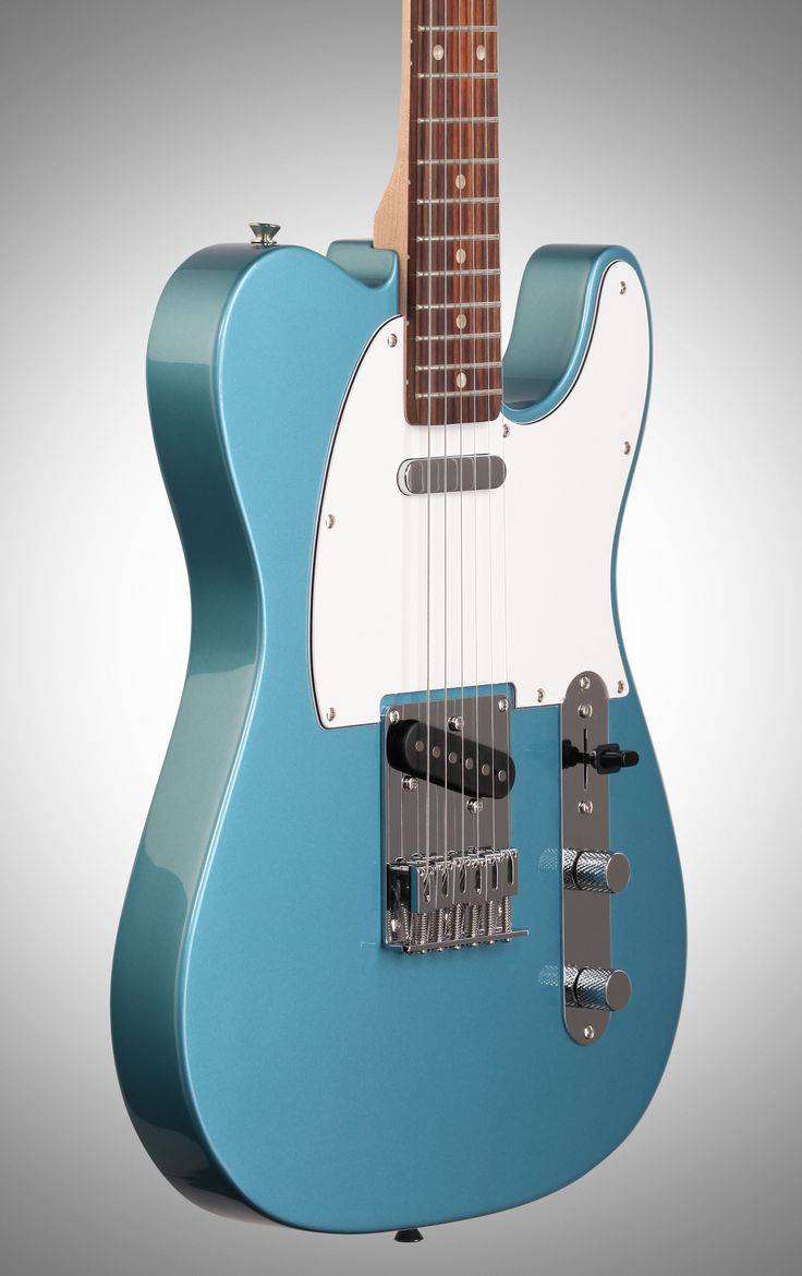 Squier Affinity Telecaster Electric Guitar, Rosewood Fingerboard, Lake Placid Blue