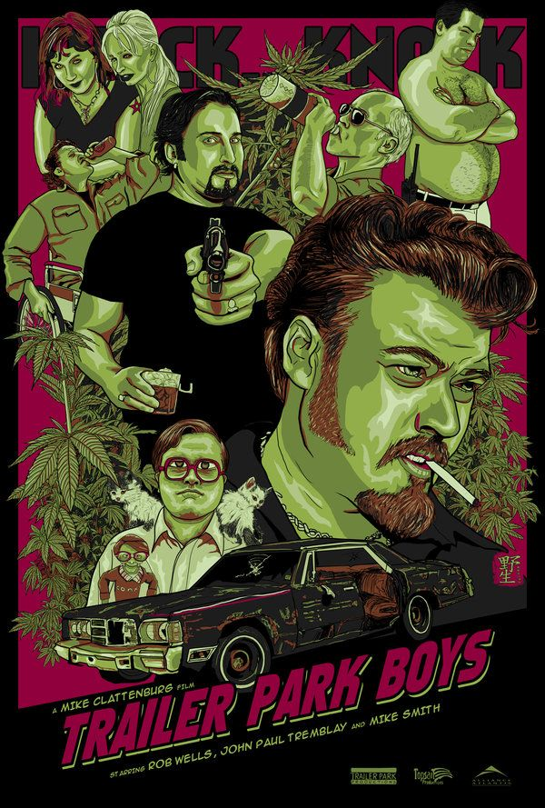 trailer park boys | Trailer Park Boys by ~wild7even on deviantART