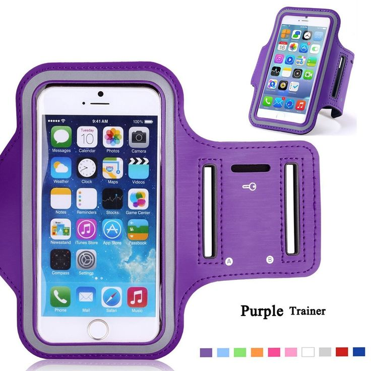 Minisuit Sporty Armband Running Gym Mobile Phone Running Cover Arm Band for Iphone 6 /6s. (Violet). BLOCKS SWEAT & RAIN - GUARANTEED: The No1 complaint with other armbands is that sweat can damage your phone. NO MORE!! Our advanced sports armband has the latest water blocking design that will stop sweat from getting to your phone. Watch as rain runs off the running belt with its waterproof zipper and extra security, water resistant inside lining. Dont risk your $$$ Smartphone, Treat…