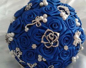 Buquê azul royal PROMOÇÃO