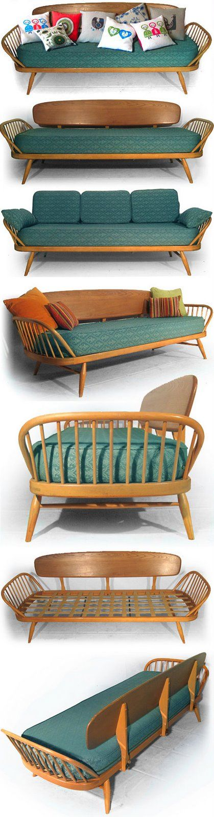 Ercol Daybed                                                                                                                                                                                 More