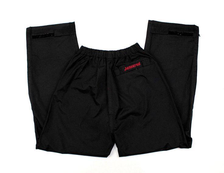"Jonsered Chainsaw Chaps Protective Leg Pants Safety Black S Waist 30"" Waterproof #Jonsered"