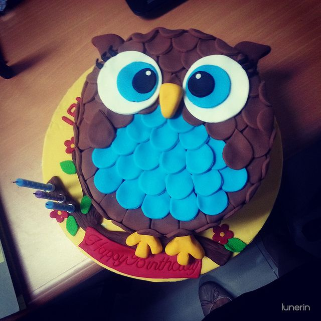Owl Party Food Ideas | Food Desserts Owl Cake Ideas and Designs