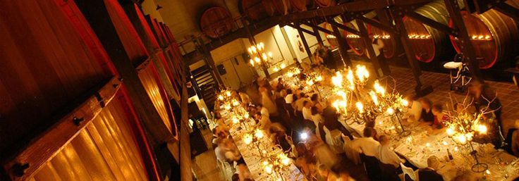 The  Great Cask Hall at the Hope Estate is an an in-demand wedding venue location on the Central Coast