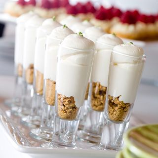 Key Lime Layered Dessert Shooters by Cocoa & Fig