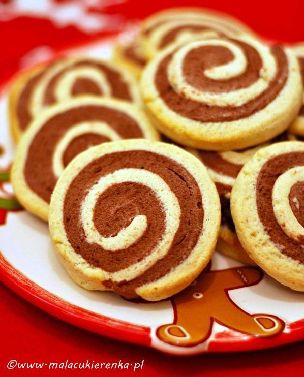 ciasteczka bez cukru (Chocolate, Vanilla Cookies for Diabetics) use Google Translate!