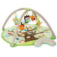 Owl Play mat - I will buy this even if I don't have another baby, just so that visiting babies will have something awesome to play with.  ;)