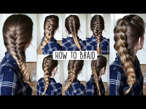 How to Braid Your Own Hair For Beginners | How to Braid | Braidsandstyles12 - YouTube                                                                                                                                                                                 More