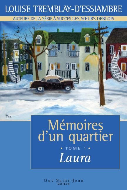 Great series if you love Montreal in the 60s and 70s.  The 10 volumes or so chronicle the trials and tribulations of a French Canadian working class family during the quiet revolution in Quebec.  You will get to know the characters as if they were real, feel their pain and share in their triumphs.  Merci Lose Tremblay-d'Essiambre!