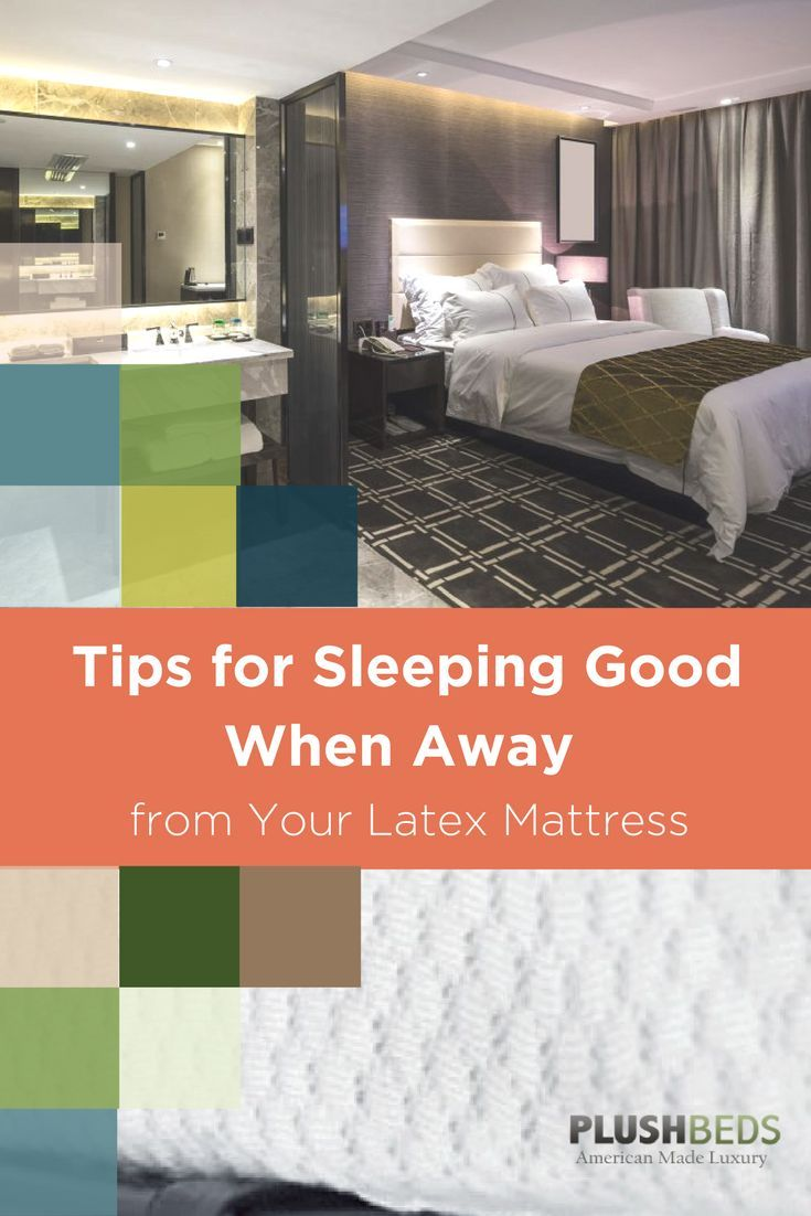 You can't beat your organic mattress at home, but what do you do