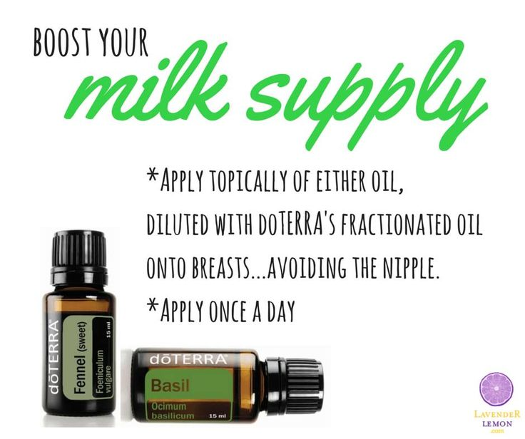 Doterra Fennel And Basil Perfect For Boosting Your Milk