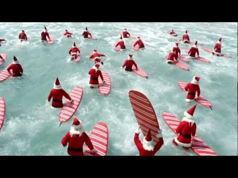 The Perfect Aussie Christmas - ALDI Surfin' Santas TV Commercial  - For Carrie- Melissa Paula  Deb