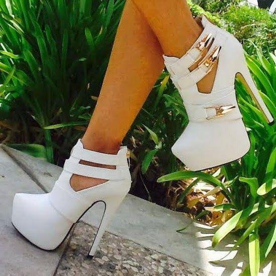 #Sexy Platform #Booties ... #shoes #heels #fashion