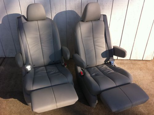 High Quality New Captain Chair Bucket Seats Leather Recliner Rv Van