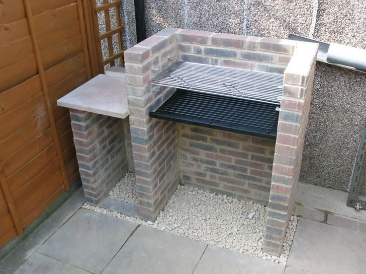 The 25 best brick bbq ideas on pinterest brick grill for Built in barbecue grill ideas