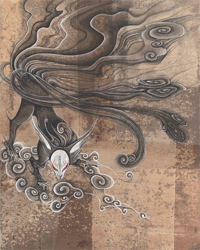 Fox with Nine Tails by Sayuka Bloodstone