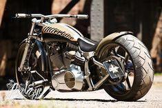Harley-Davidson Softail Ego shooter by Thunderbike #HarleyDavidsonSoftail
