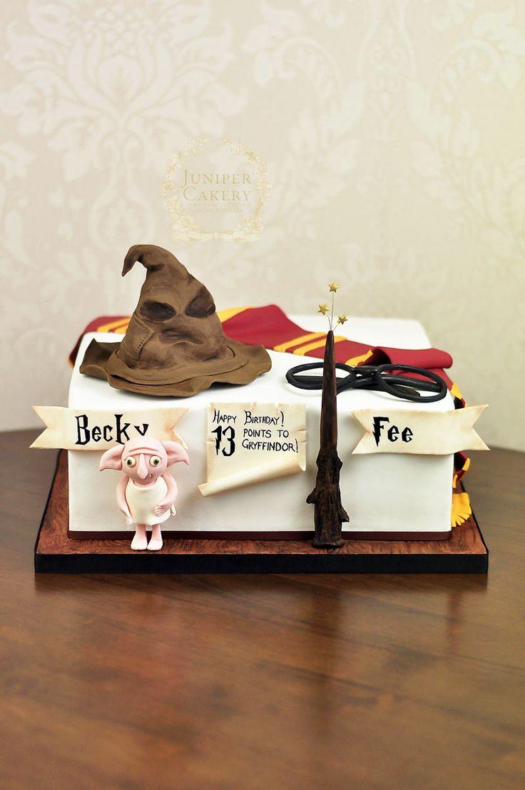 Harry Potter Themed 13th Birthday Cake