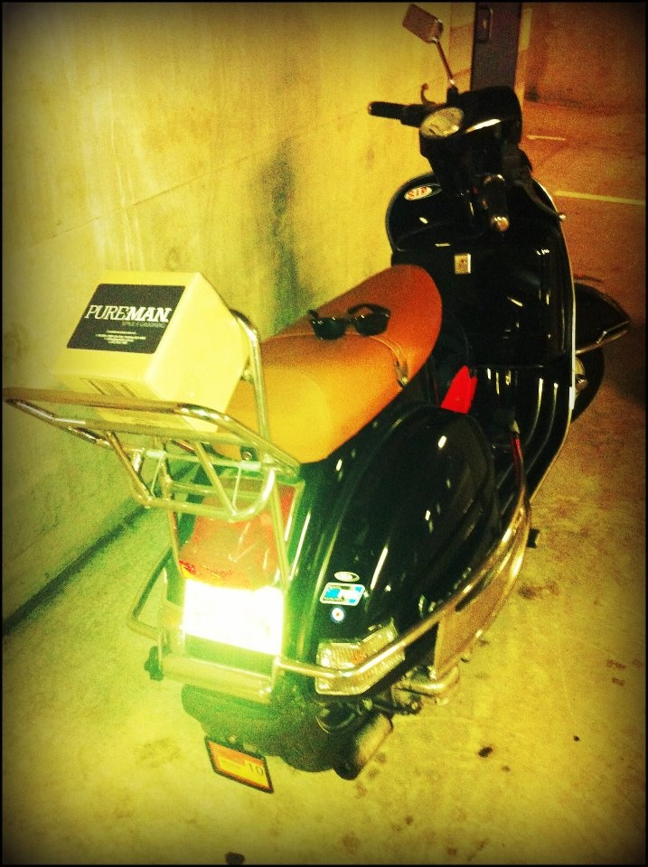 "www.pureman.com.au  We deliver. - hey ""like"" our ride."