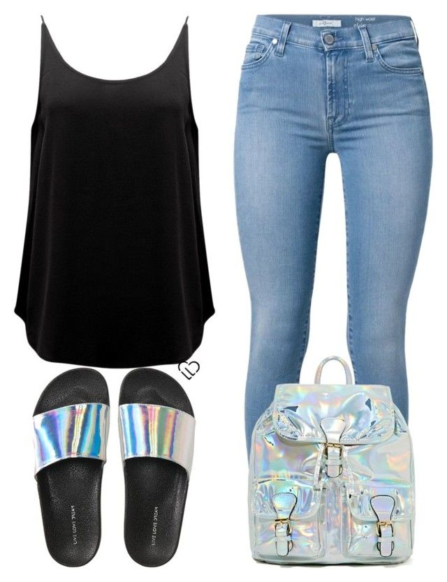 """Mini Backpack"" by isror on Polyvore featuring 7 For All Mankind, BA&SH and Aéropostale"