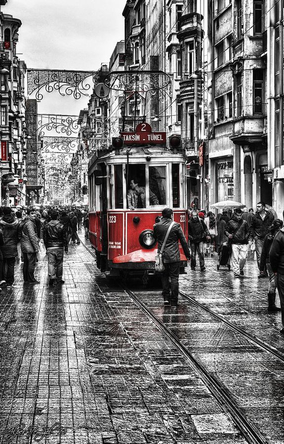 Istıklal and the Old Tram