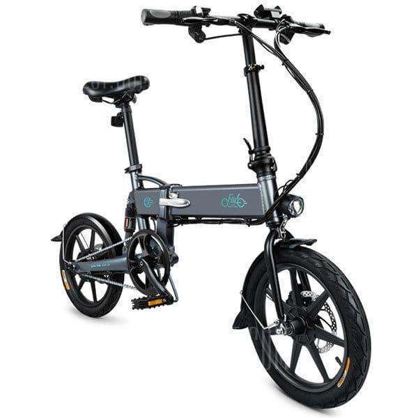 Fiido D2 Slate Gray Electric Bikes Sale Price Reviews Folding