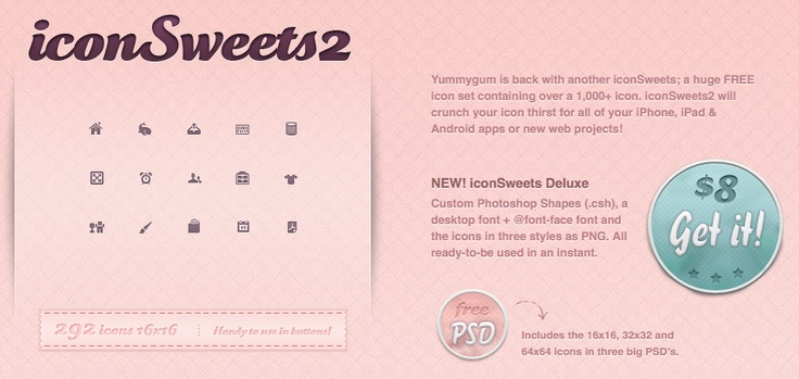 Free: Icon Sweets2  http://iconsweets2.com/