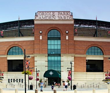 Oriole Park at Camden Yards, Baltimore, Maryland - Home of the Baltimore Orioles