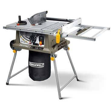 "Handyman tips review of the popular Rockwell 14 "" Table Saw with laser indicator! A tool which every woodworker should at least check out ;-)"