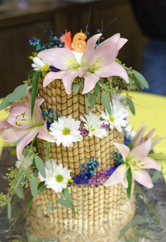How to make this Hawaiian Luau cake!