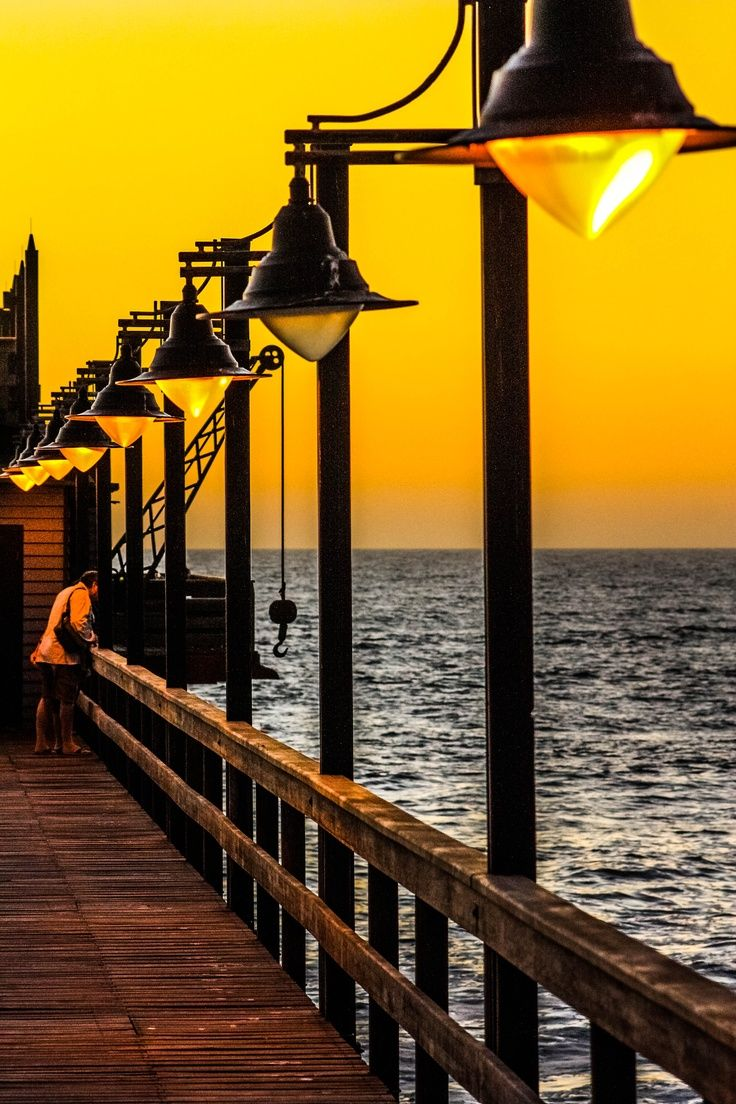 The Jetty!!! That's where I had springbok for dinner Swakopmund