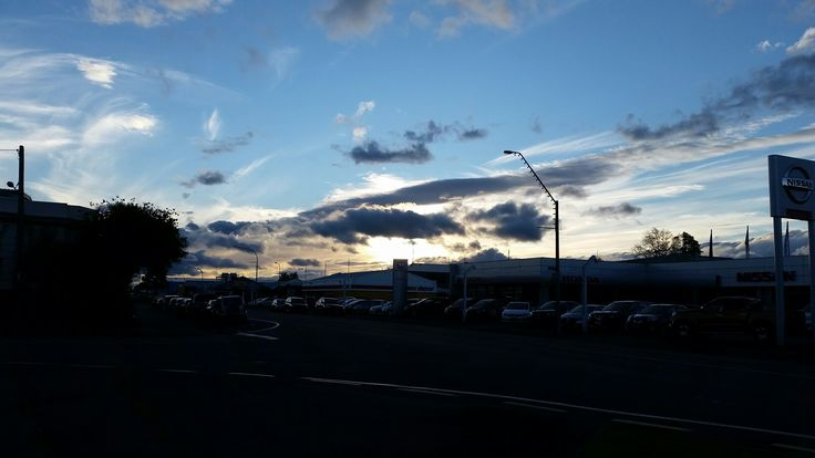 Masterton New Zealand  #sunset #nz #beauty #phonequality #clouds
