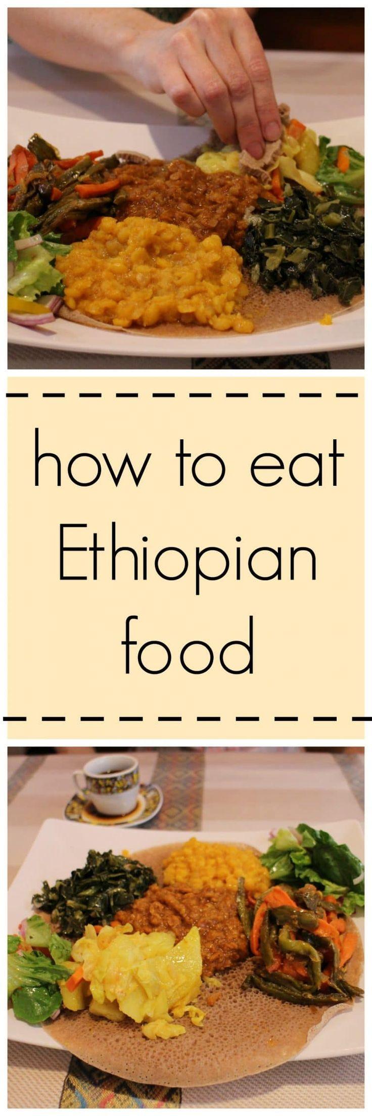 How to eat Ethiopian food + Nile Ethiopian restaurant in Coralville, Iowa. Lots of vegan options! | cadryskitchen.com