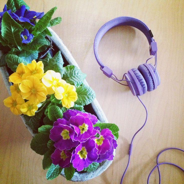 #vår #musikk #blomster