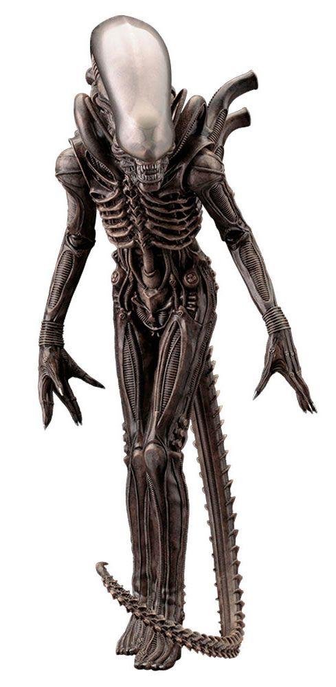 Estatua Alien Xenomorph Big Chap 22 cm. Alien. el octavo pasajero. Escala 1:10. Kotobukiya  Impresionante y conseguida estatua del terrorífico Alien Xenomorph Big Chap de la saga Alien de 22 cm, en una pieza 100% oficial y licenciada a escala 1:10 que si eres fan no te puedes perder.
